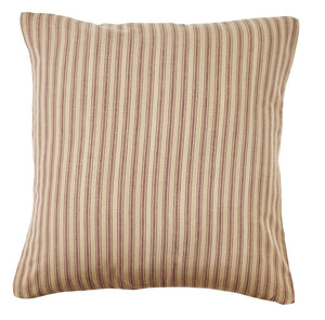 Bradford Star Striped Fabric Pillow Cover - 16 inch