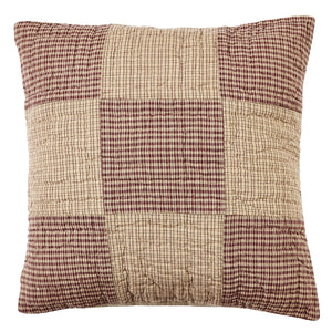 Bradford Star Quilted Pillow Cover - 16 inch