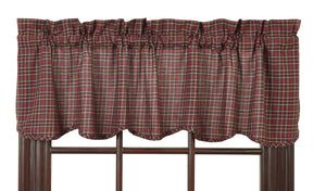 Bradford Star Scalloped Valance