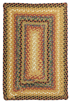 Peppercorn Cotton Braided Rug Rectangular