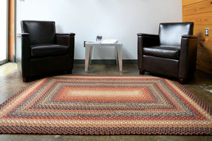 Peppercorn Cotton Braided Rug