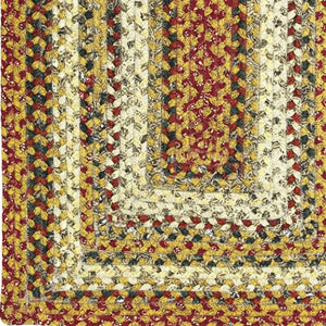 Pumpkin Pie Cotton Braided Rug