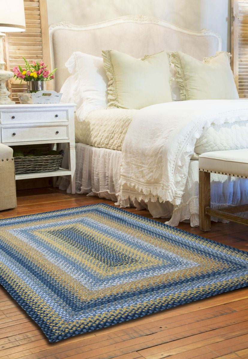 Sunflowers Cotton Braided Rug Dl Country Barn
