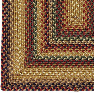 Canterbury Ultra Wool Braided Rug by Homespice - DL Country Barn