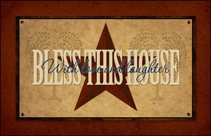 Bless This House Floor Mat - COD27 by Crossroads - DL Country Barn