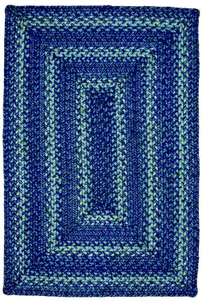 Denim Jute Braided Rug - Rectangular