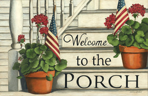 Welcome To The Porch Floor Mat - DS407