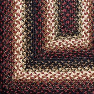 Prescott Braided Jute Rug | Country Primitive Braided Jute Rugs