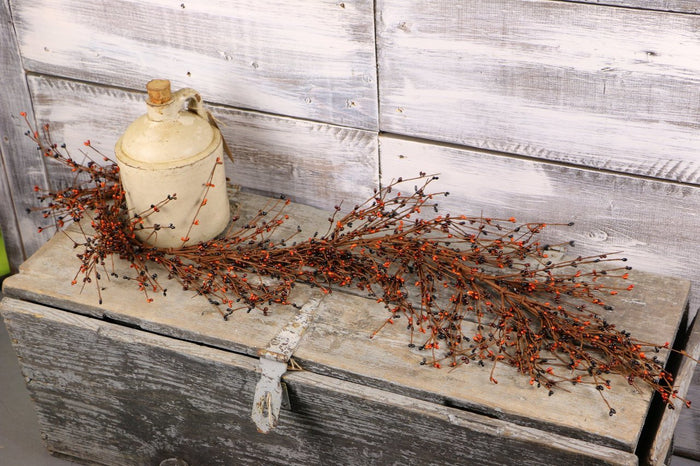 Primitive Mix PIP Berry Garland - 48""