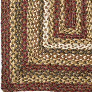 Tea Cabin Jute Braided Rug