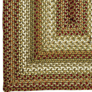 Winter Wheat Ultra Wool Braided Rug