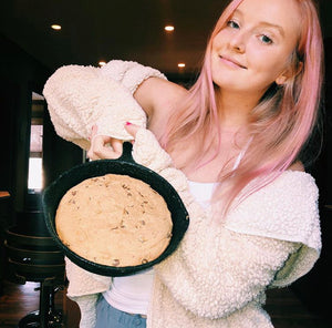 Devoted Fans share their recipes- Skillet carob chip cookie