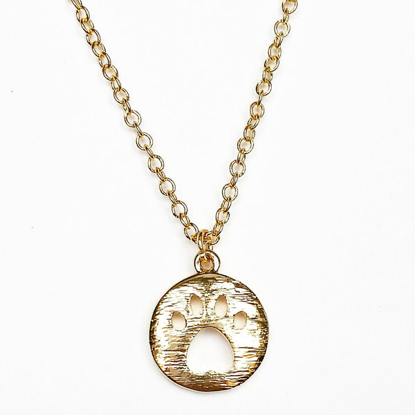 FREE Paw Print Necklace