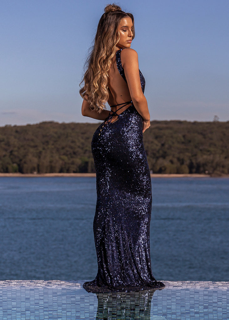 Ocean Jewel Gown