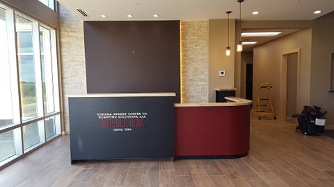 August 2016 Reception Desk