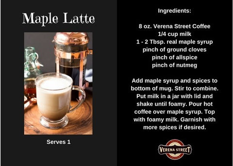 Maple Latte