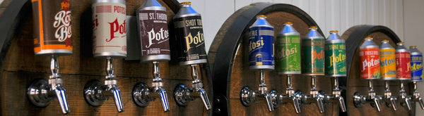 Potosi Brewing Co. taps