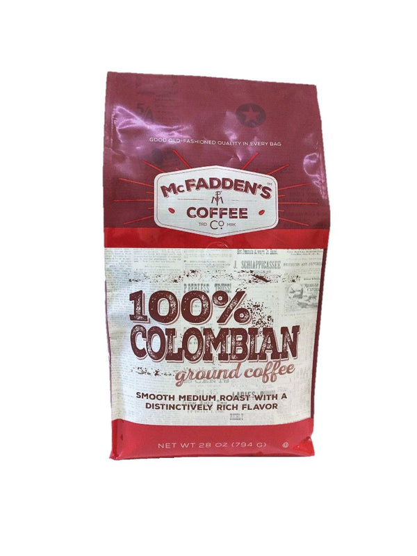 McFaddens 100% Colombian Ground - Verena Street Coffee Co.