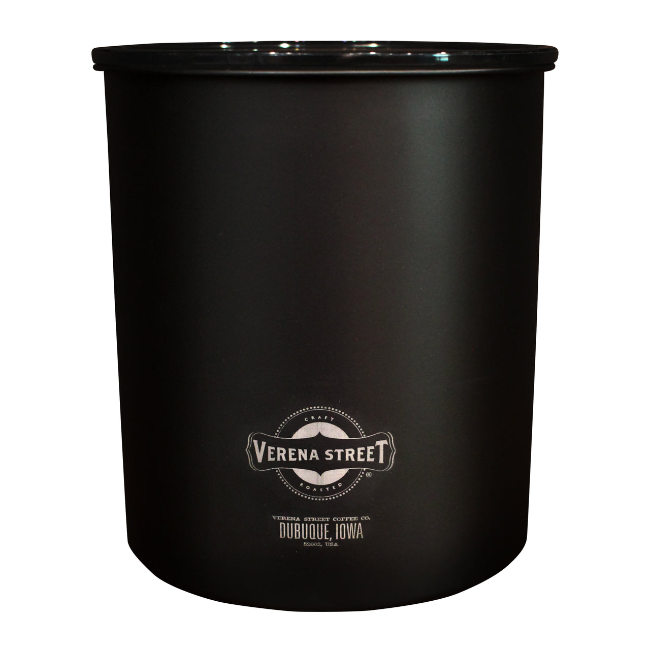 Matte Black Kilo AirScape Coffee Canister (2.2lbs)