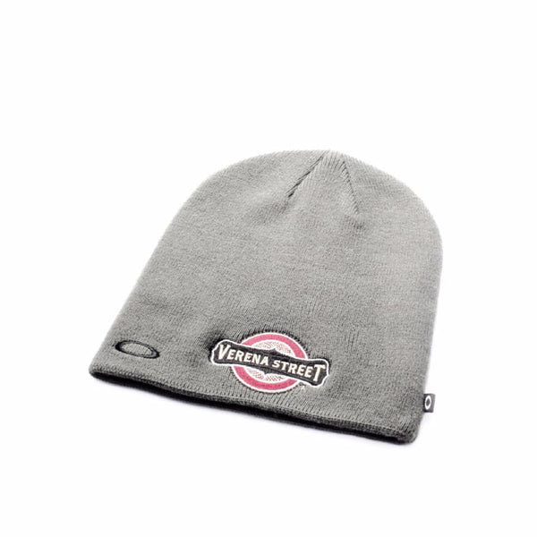 Oakley Fine Knit Embroidered Logo Beanie - Verena Street Coffee Co.