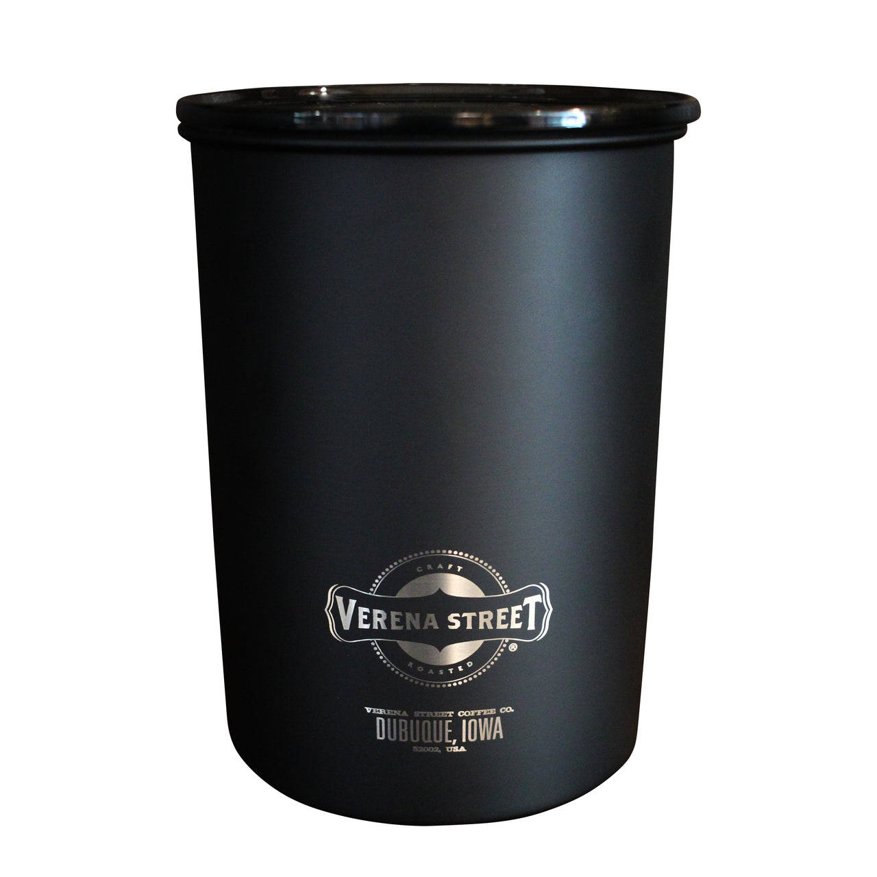 Matte Black AirScape Coffee Canister (1lb)