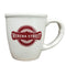 15oz Matte Cream Ceramic Morning Mug w/Logo