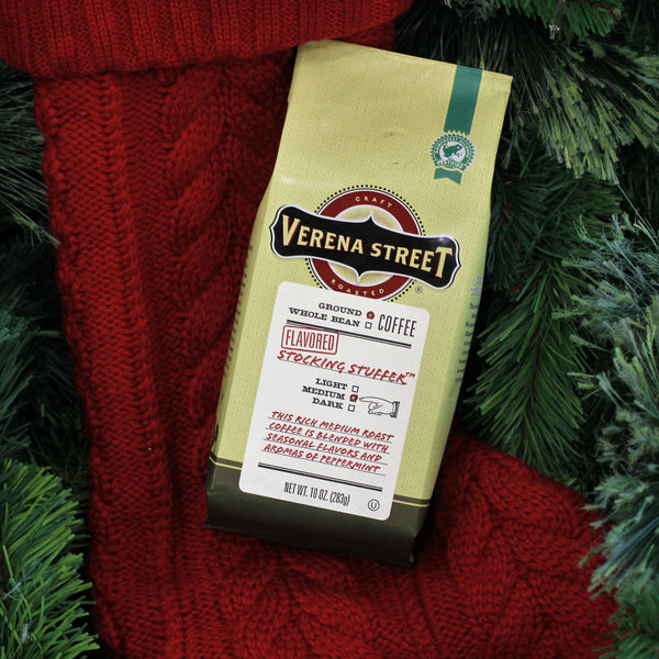 Stocking Stuffer 10oz ground coffee (seasonal release) - Verena Street Coffee Co.
