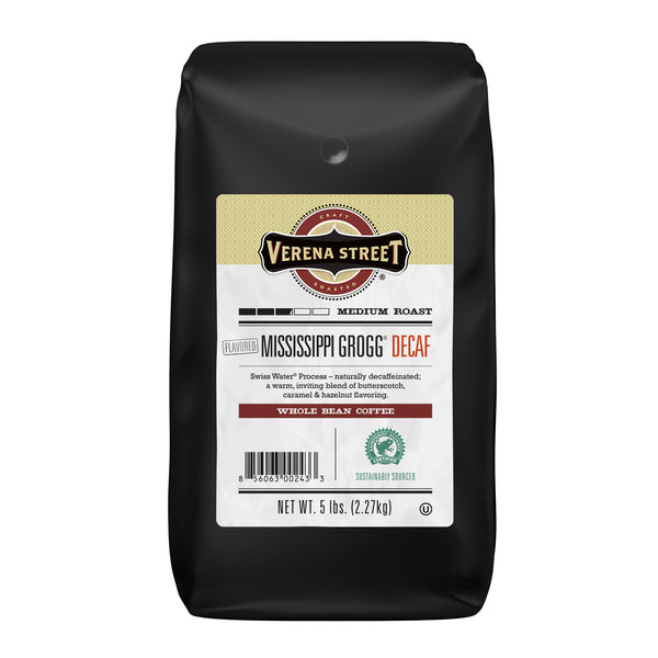 Mississippi Grogg® Decaf whole bean - Verena Street Coffee Co.