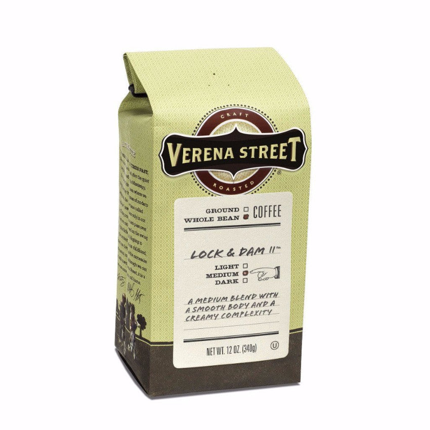 Lock & Dam #11™ whole bean - Verena Street Coffee Co.