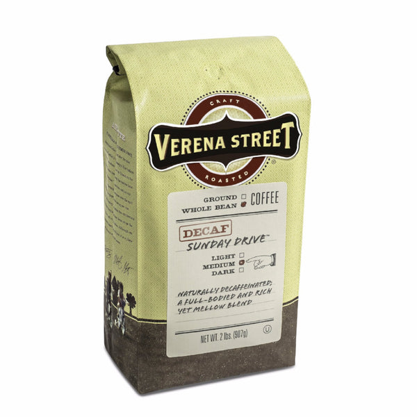 Sunday Drive™ Decaf Swiss Water Process whole bean - Verena Street Coffee Co.