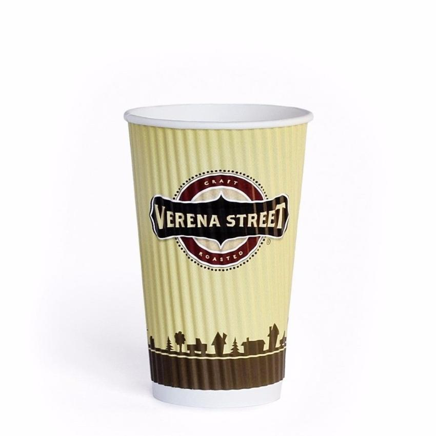 Insulated Paper Cup (500ct) - Verena Street Coffee Co.