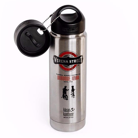 20oz Klean Kanteen Insulated bottle - Verena Street Coffee Co. - 1