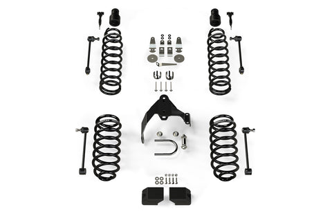 JK 4 Door 3 Base Lift Kit 07-Pres Wrangler JK Unlimited TeraFlex