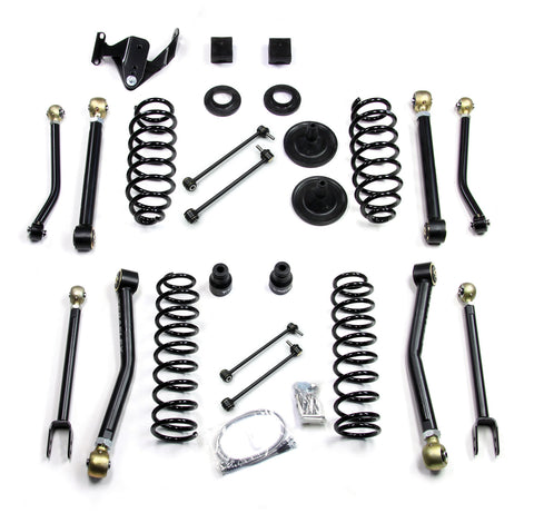 JK 4 Door 3 Inch Lift Kit W/8 Flexarms 07-Pres Wrangler JK Unlimited TeraFlex