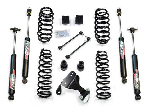 JK 2 Door 2.5 Lift Kit W/9550 Shocks 07-Pres Wrangler JK TeraFlex