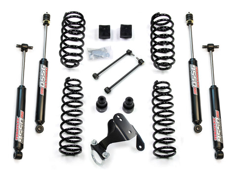 JK 4 Door 2.5 Lift Kit W/9550 Shocks Right Hand Drive 07-Pres Wrangler JK Unlimited TeraFlex
