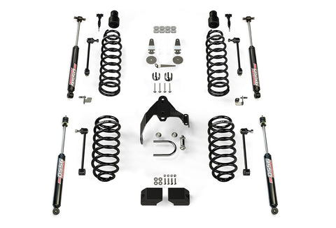 JK 4 Door 3 Inch Lift Kit W/9550 Shocks 07-Pres Wrangler JK Unlimited TeraFlex
