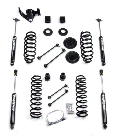 JK 4 Door 3 Inch Lift Kit W/9550 Shocks Right Hand Drive 07-Pres Wrangler JK Unlimited TeraFlex