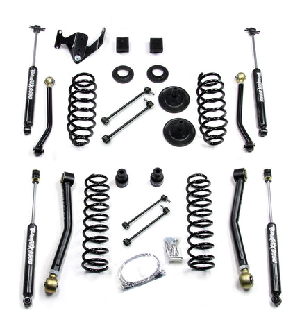 JK 2 Door 3 Inch Lift Kit W/4 FlexArms And 9550 Shocks 07-Pres Wrangler JK TeraFlex