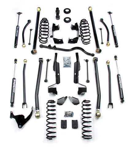 JK 4 Door 2.5 Elite LCG Long FlexArm Lift Kit W/ 9550 Shocks 07-Pres Wrangler JK Unlimited TeraFlex