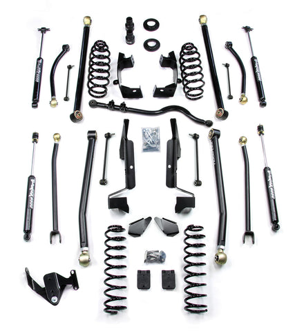 JK 4 Door 2.5 Elite LCG Long FlexArm Lift Kit W/9550 Shocks Right Hand Drive 07-Pres Wrangler JK Unlimited TeraFlex