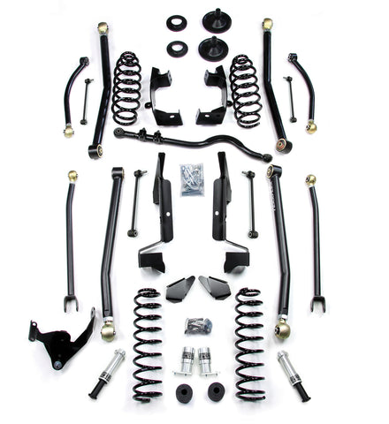 JK 2 Door 2.5 Elite LCG Long FlexArm Lift Kit W/SpeedBumps 07-Pres Wrangler JK TeraFlex