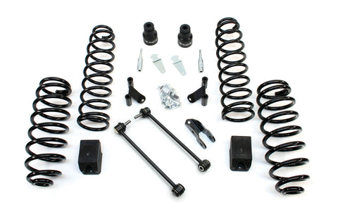 JK 4 Door 2.5 Lift Kit W/Shock Extensions 07-Pres Wrangler JK Unlimited TeraFlex