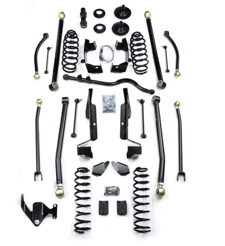 JK 4 Door 3 Elite LCG Long FlexArm Lift Kit Right Hand Drive 07-Pres Wrangler JK Unlimited TeraFlex
