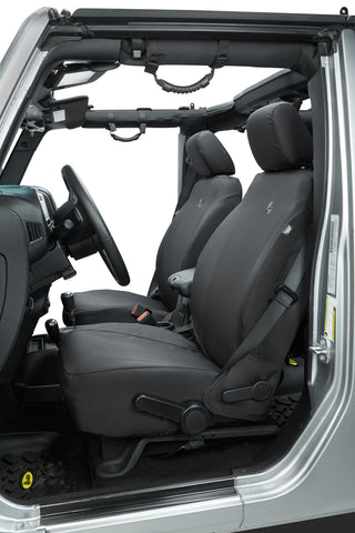 Jeep Jeep JK Seat Covers 2/4 Door Front Buckets 13-Present Jeep Wrangler JK/Unlimited 2/4 Door Black Diamond Pair Bestop