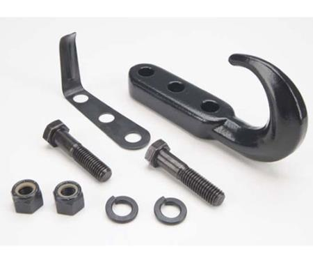 Tow Hook Kit 76-06 Wrangler CJ/YJ/TJ/LJ Black Smittybilt