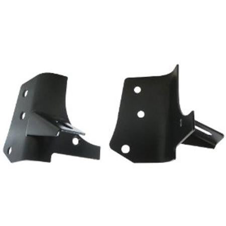 Windshield Hinge Light Bracket 97-06 Wrangler TJ/LJ Black Smittybilt