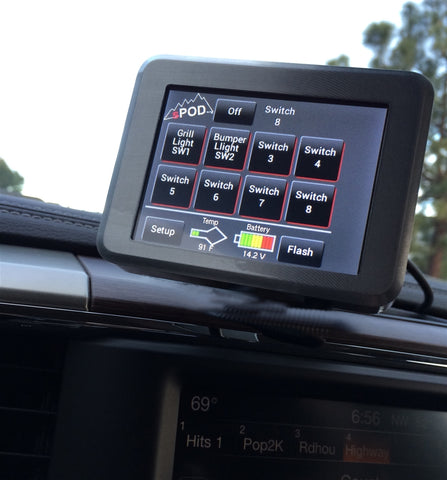 Swicth Panel 8 Circuit Source SE W/Touchscreen Universal Trucks sPOD