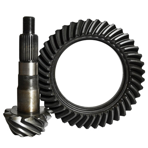 Dana 30 Short 5.13 Ratio Ring And Pinion Standard Rotation W/C/S TJ ZJ WJ 3/8 Inch R/G Bolt Holes Nitro Gear and Axle