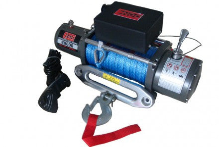 ENGO 9000 Lbs Winch, EPF9000S, Synthetic Line 77-09000S - All-Terrain Outfitters